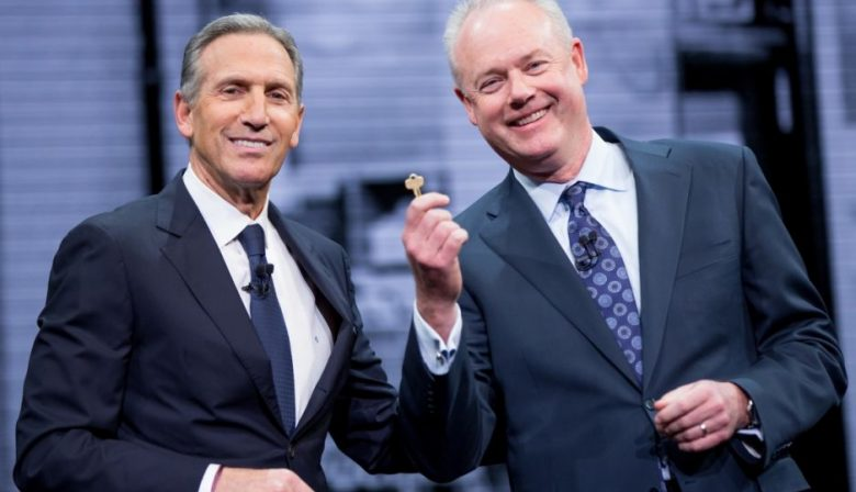 Howard Schultz Kevin Johnson
