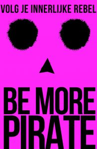 Be More Pirate - cover