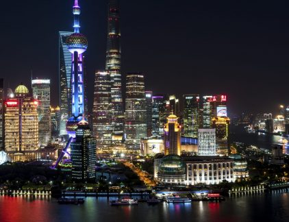 Shangai Financial District